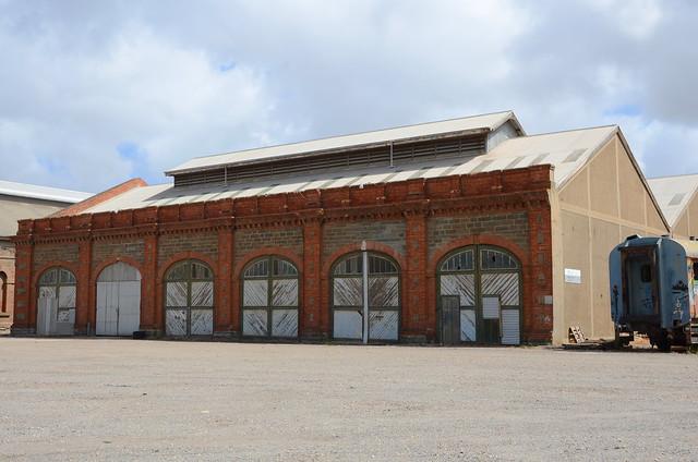 DSC_8505 old Bulk Store (formerly Carriage and Wagon Shop extension), Islington Railway Workshops, Kilburn, South Australia