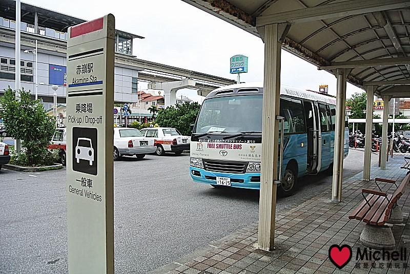 沖繩瀨長島搭車路線