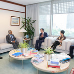 ADB President Takehiko Nakao meets with Sri Lanka senior government officials