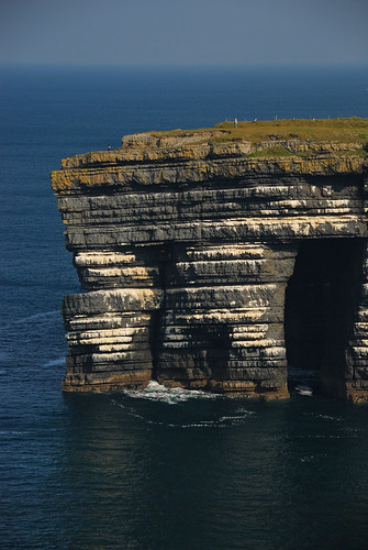 The Bridges of Ross, with their 'improbable' rocky outcroppings, near Loop Head, Ireland