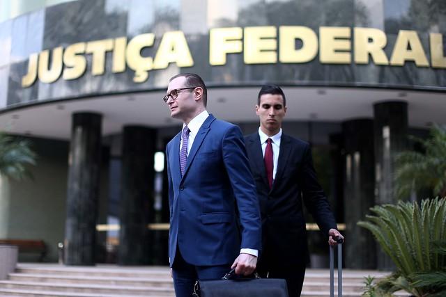 Advogado de defesa do ex-presidente Lula, Cristiano Zanin Martins - Créditos: Filipe Araujo