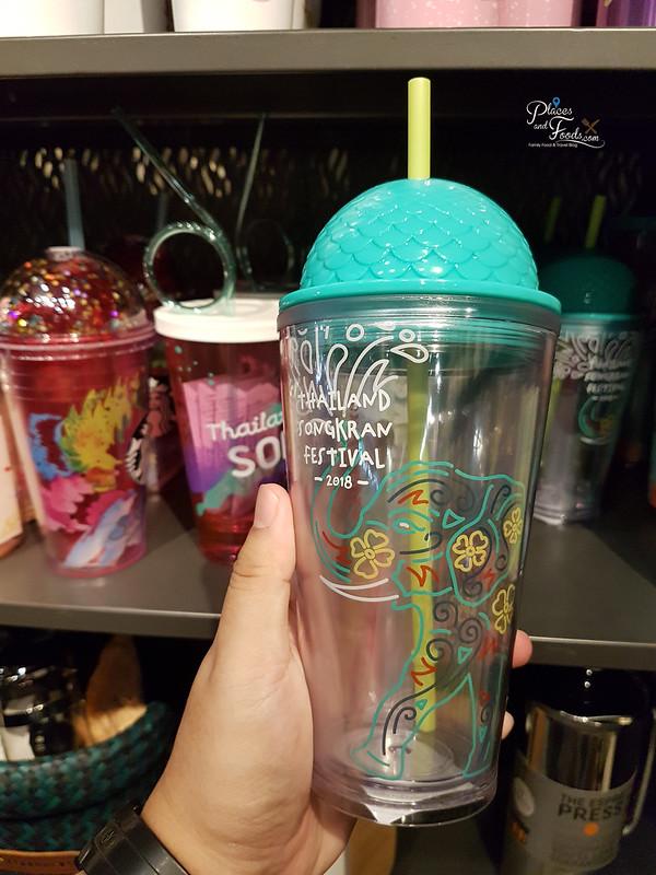 Starbucks Thailand Songkran Day 2018 Collections green