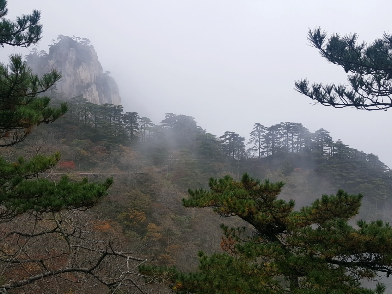 view from Huangshan