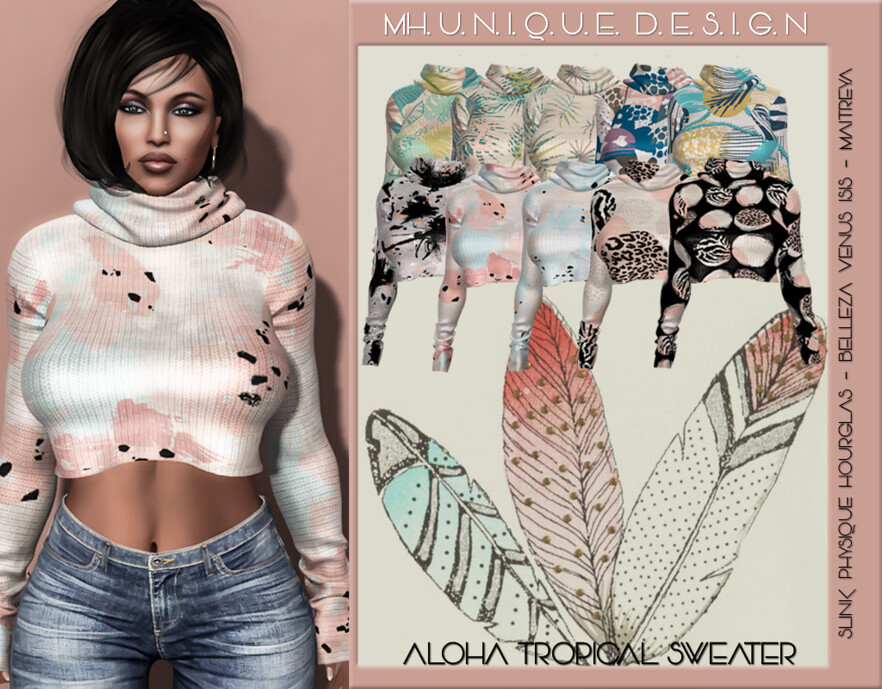 MH-Aloha Tropical Sweater-Collection - TeleportHub.com Live!