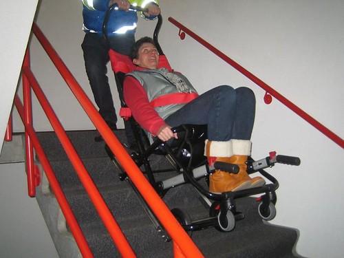 Evacuazione e trasporto disabili