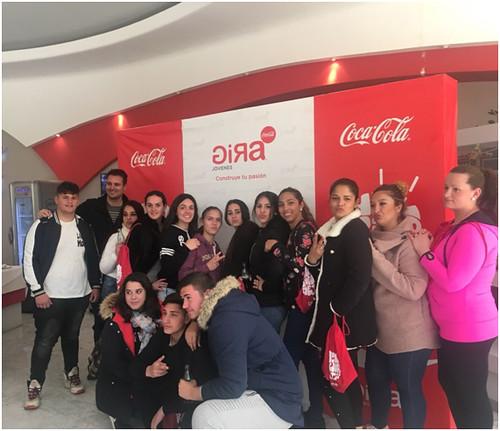Alumnado La Esperanza Zona Sur Gira Coca Cola