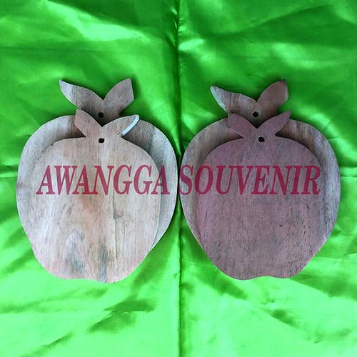 telenan kayu Apel besar kecil