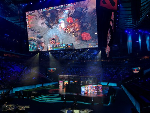 OG vs TNC at TI7, in Key Arena | by NeuEve