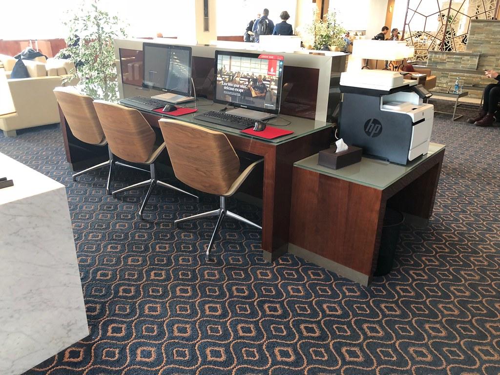 Emirates Lounge Milan MXP 51