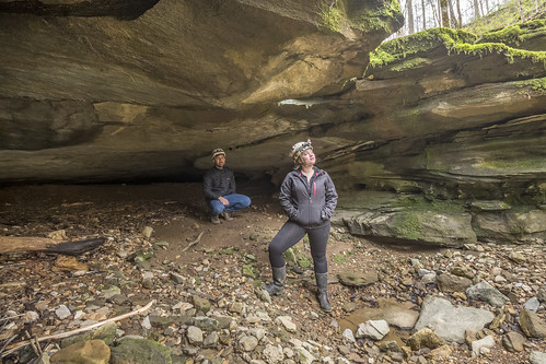 Kurt Heischmidt, Haley DIckson, Mill Creek Cave, Standing Stone State Forest & WMA, Overton County, Tennessee