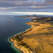 Eyre Peninsula coastline from the air by Robert Lang Photography