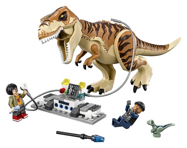 恐龍真的抓不完欸~~ LEGO 75933《侏羅紀世界:殞落國度》霸王龍運輸 T-Rex Transport