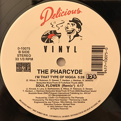 THE PHARCYDE:YA MAMA(LABEL SIDE-B)