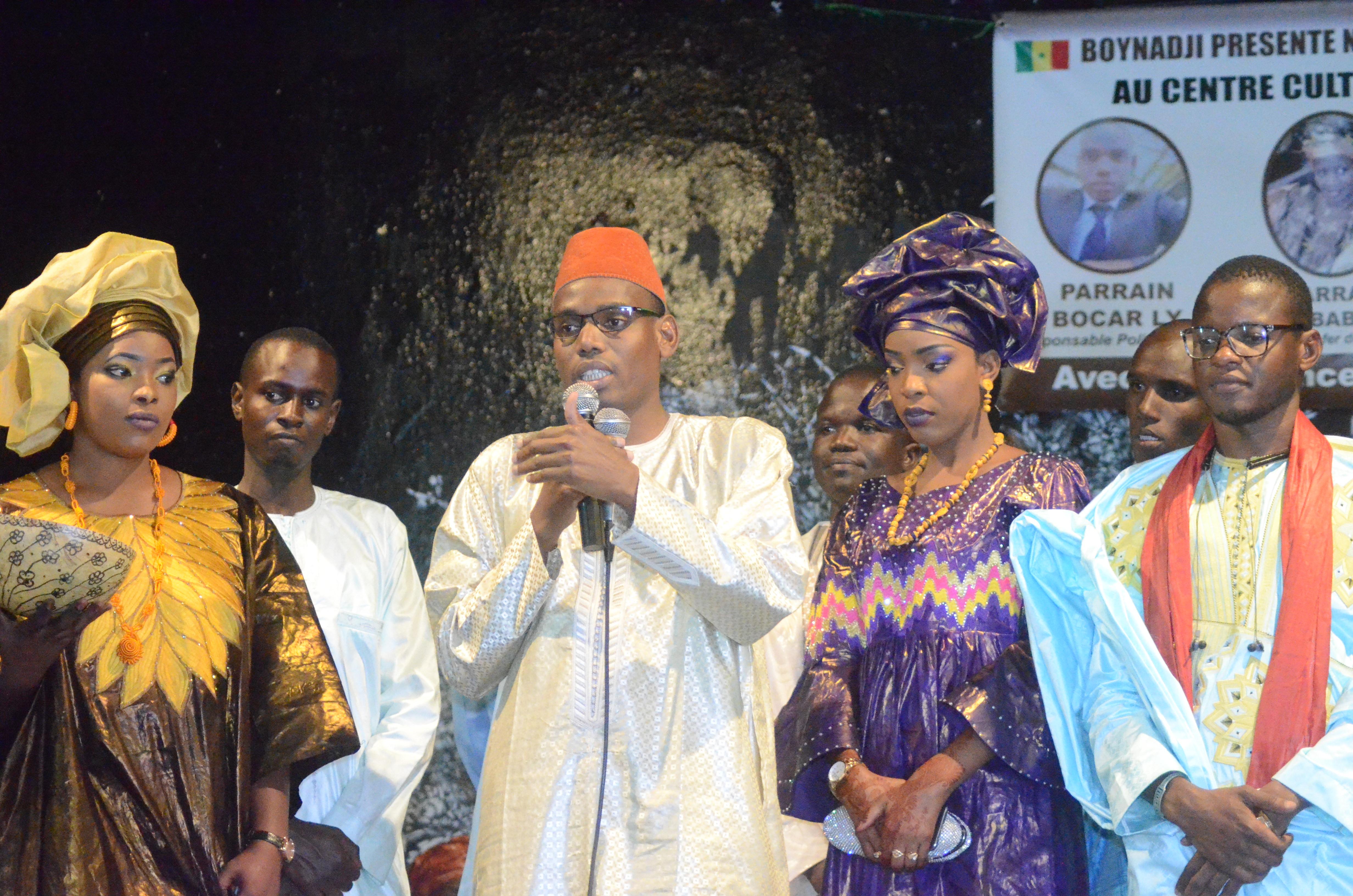 Première Edition soirée culturelle de l'Association Boyinadji Ma fierté de Bokidiawé, le parrain Bocar Abdoulaye Ly appelle à l'union des cœurs (43)