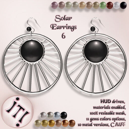 !IT! - Solar Earrings 6 Image - TeleportHub.com Live!