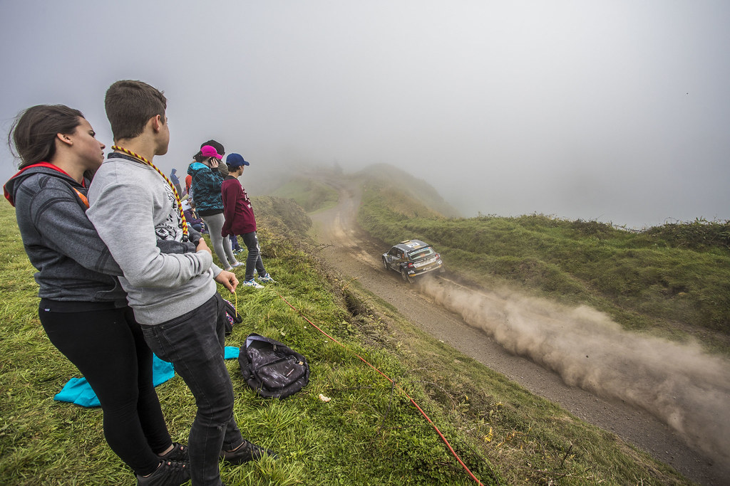 23 BOTKA David (hun), MESTERHAZI Mark (hun), SKODA FABIA R5, action during the 2018 European Rally Championship ERC Azores rally,  from March 22 to 24, at Ponta Delgada Portugal - Photo Gregory Lenormand / DPPI