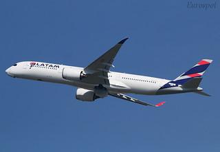 F-WZFB Airbus A350 LATAM
