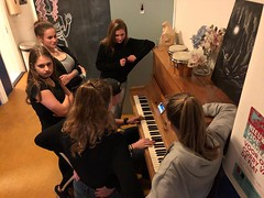 Piano in gang