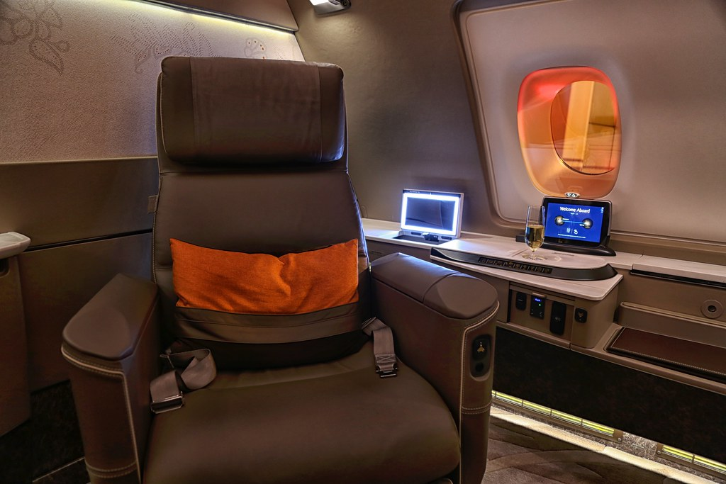 Singapore Airlines First Class Suites 24