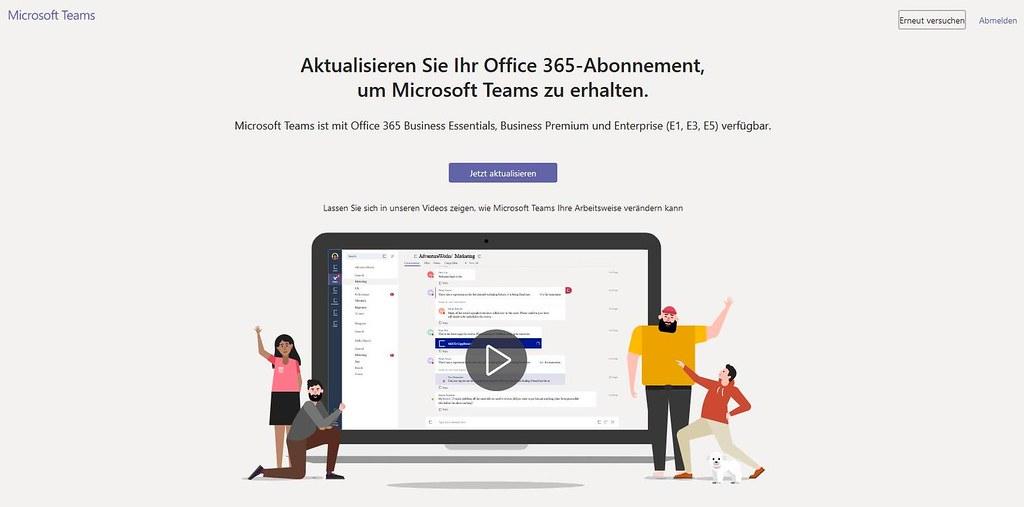 Microsoft Teams Gastzugang (20): Einmal Adminstrator - kein Teams mehr