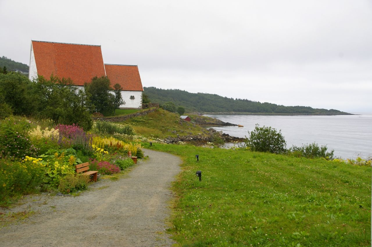 Trondenes Church, Norway. Photo taken on August 3, 2006.