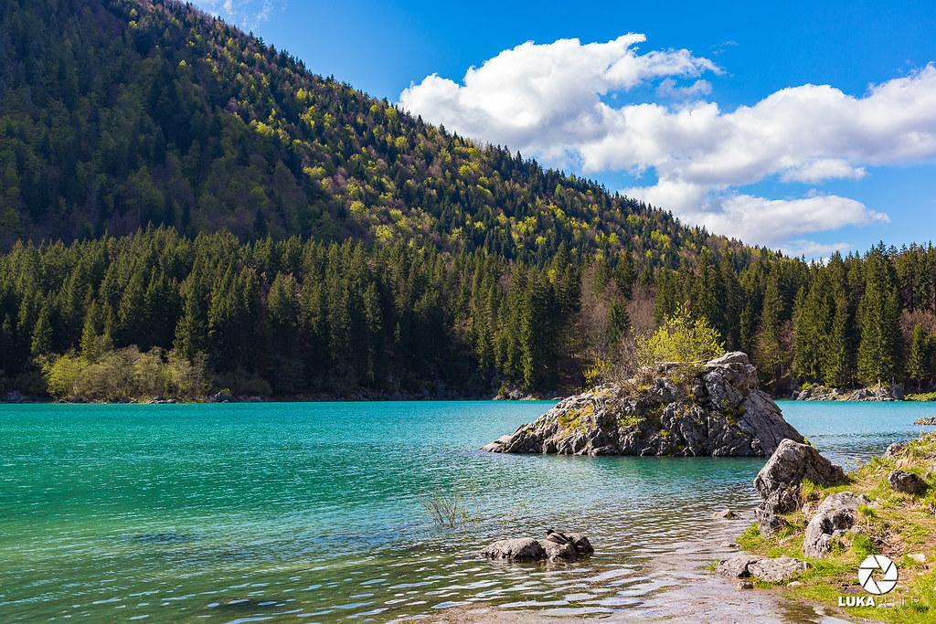 Mangartska jezera in slap Peričnik