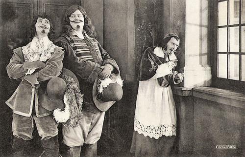 Jean Yonnel, Charles Martinelli and Jean Périer in Vingt ans après (1922)