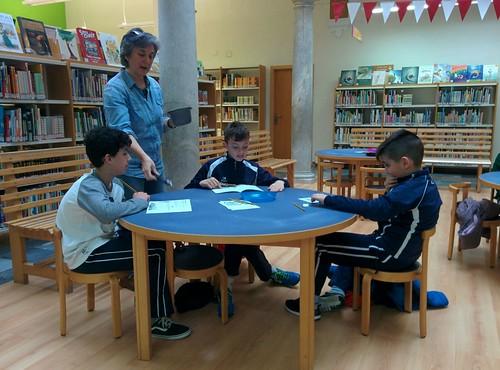 5º en la Biblioteca