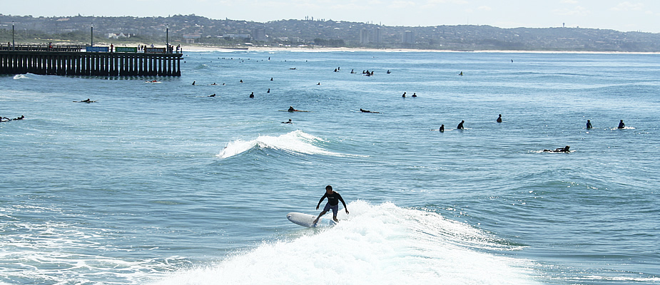 Waar kun je surfen in Zuid-Afrika? Durban | Mooistestedentrips.nl