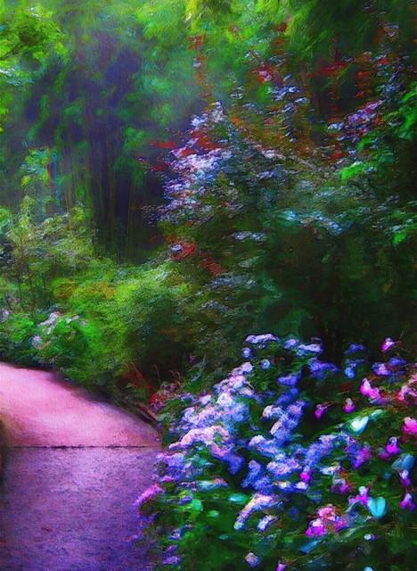 Garden path....