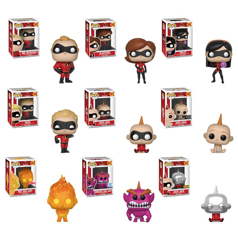 The Incredibles 2 by Funko 1