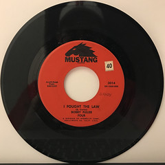 BOBBY FULLER FOUR:I FOUGHT THE LAW(RECORD SIDE-A)