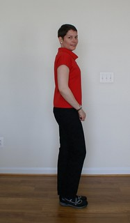 Black jeans - side