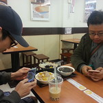 Dinner with Takuya and Friend