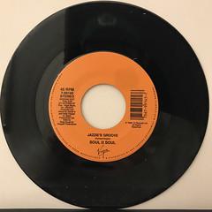 SOUL II SOUL:JAZZIE'S GROOVE(RECORD SIDE-B)