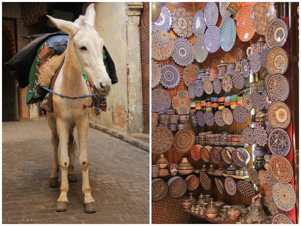 Inside Fes' medina, Morocco