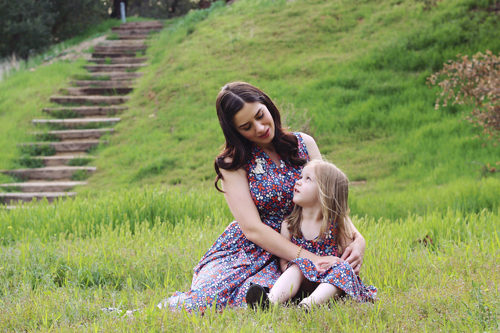 Karina Dresses Ruby Dress in Wildflowers Karina Dressess Cali Dress in Wildflowers