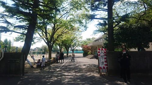 20180409_蕨市立西小学校入学式