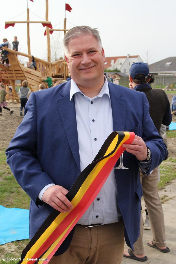 Officiële opening speelplein Heulebrug