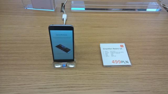 REDMI 5A 16GB - 119,9€ (3)