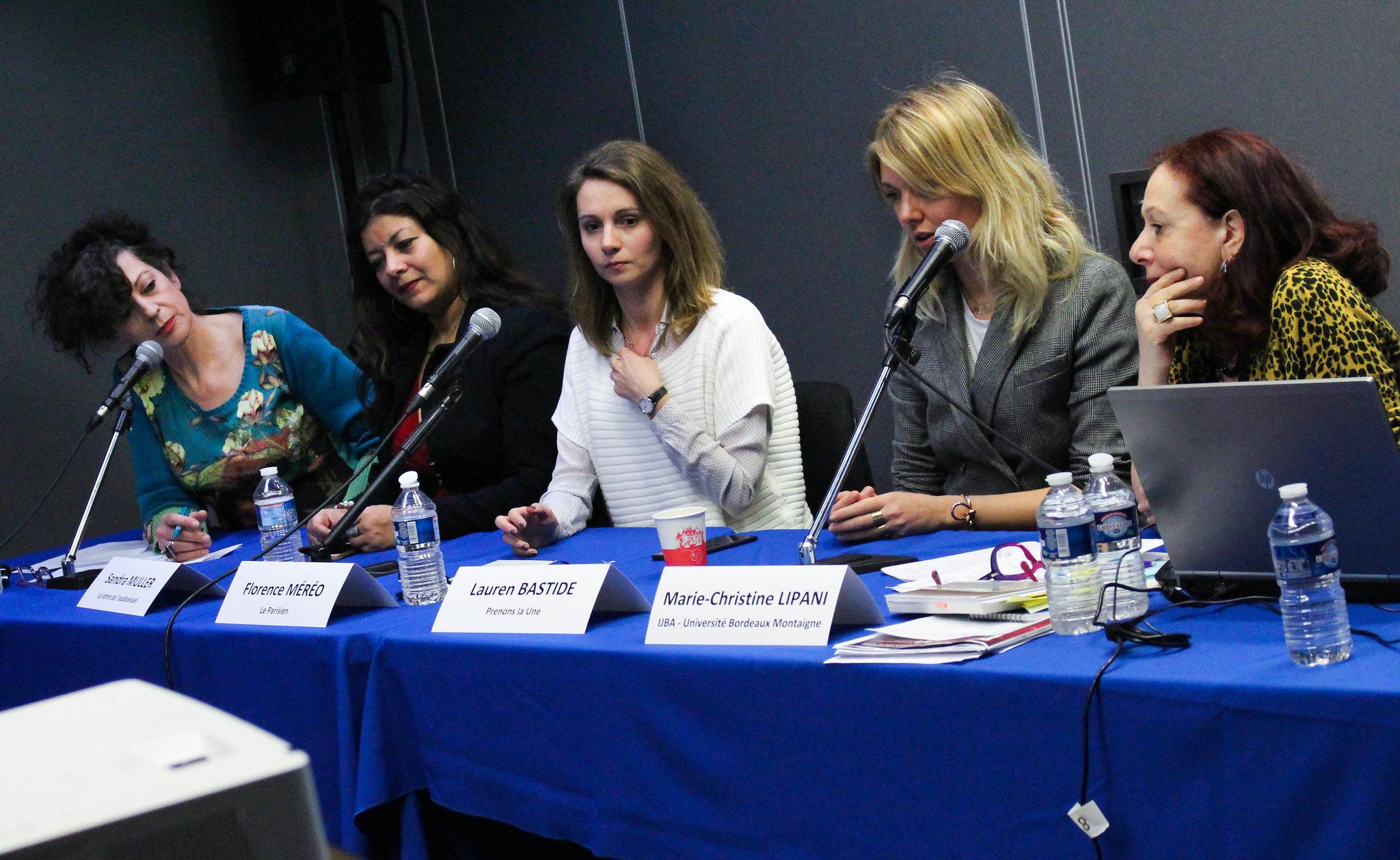 Harcèlement et place des femmes dans les rédactions. Photo : Clara Gaillot