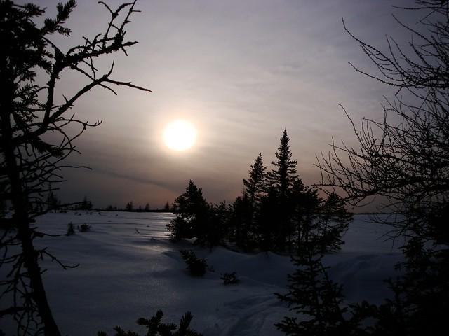 A Cloudy sunset, Sony DSC-W150