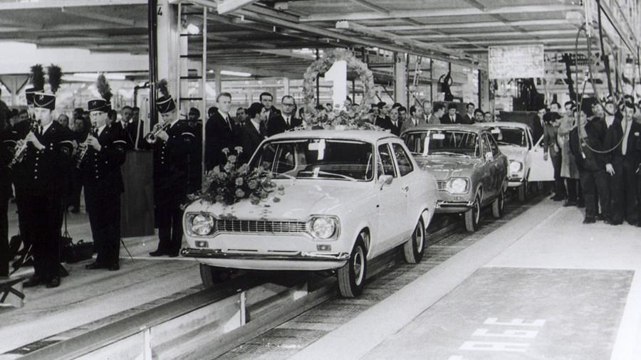 Ford Escort Saarlouis, 1970