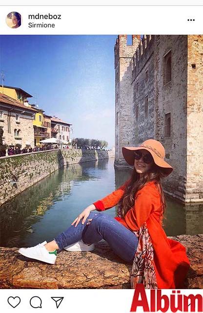 Bahçeşehir Koleji İstanbul'da görev yapan Öğretmen Medine Boz, İtalya Sirmione Garda Gölü'nden bu fotoğrafı paylaştı.