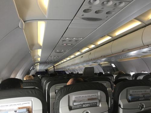 04 - Im Lufthansa A321 von München nach Frankfurt