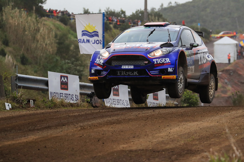 21 KASPERCZYK Tomasz (pol), SYTY Damian (pol), FORD FIESTA R5, action during the 2018 European Rally Championship ERC Azores rally,  from March 22 to 24, at Ponta Delgada Portugal - Photo Jorge Cunha / DPPI