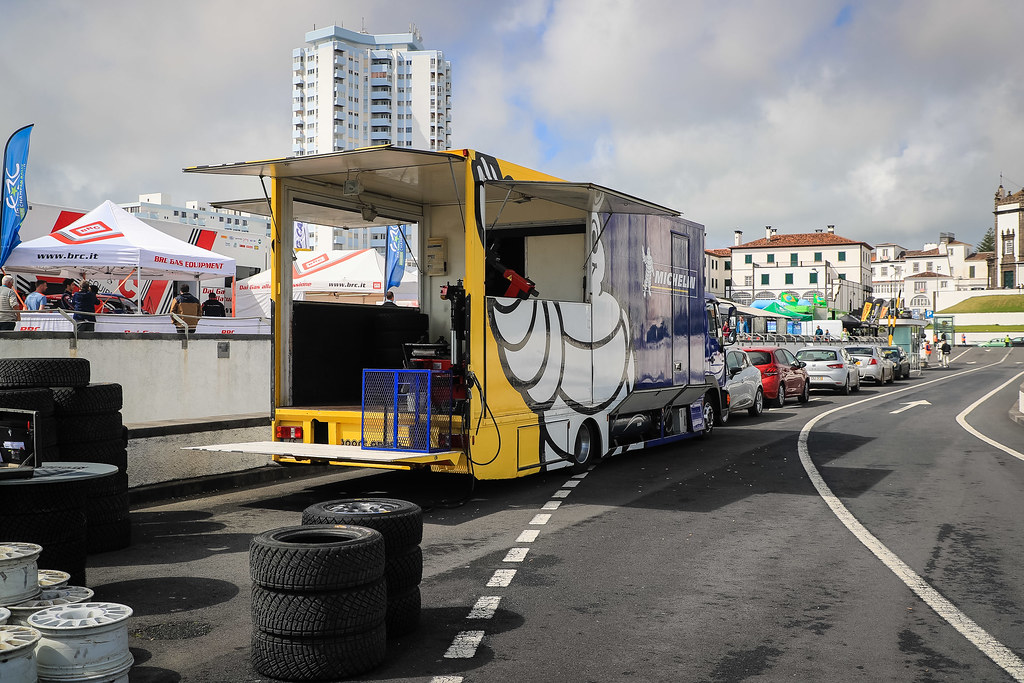ambiance Michelin during the 2018 European Rally Championship ERC Azores rally,  from March 22 to 24, at Ponta Delgada Portugal - Photo Jorge Cunha / DPPI