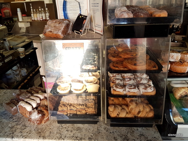 Dreamers' Cafe baked goods