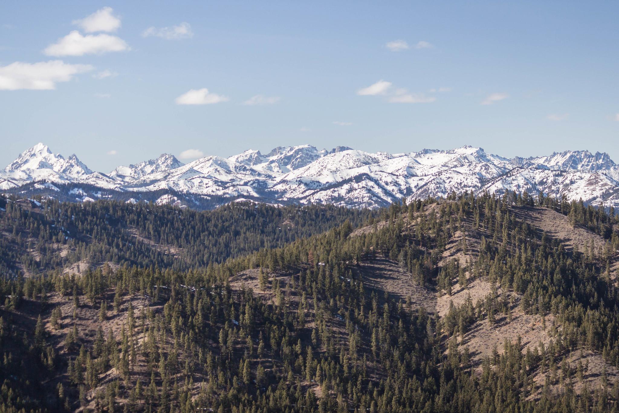Stuart Range plus Teanaway peaks