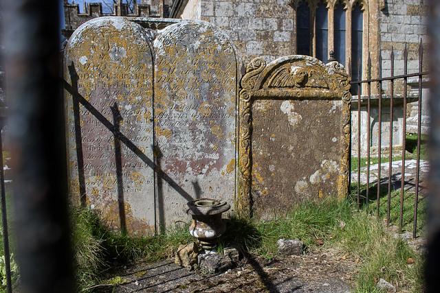 Gerrard headstones, Loders Churchyard